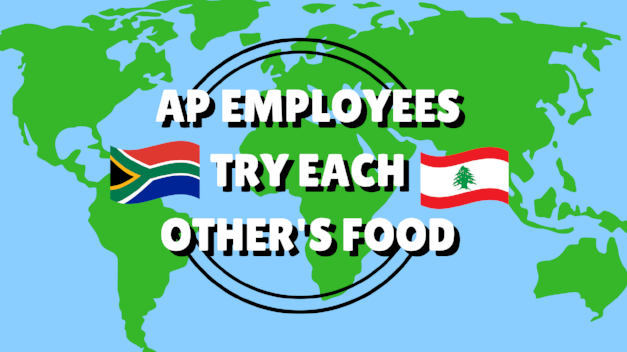 AP Employees Try Each Other's Food Title Card.png