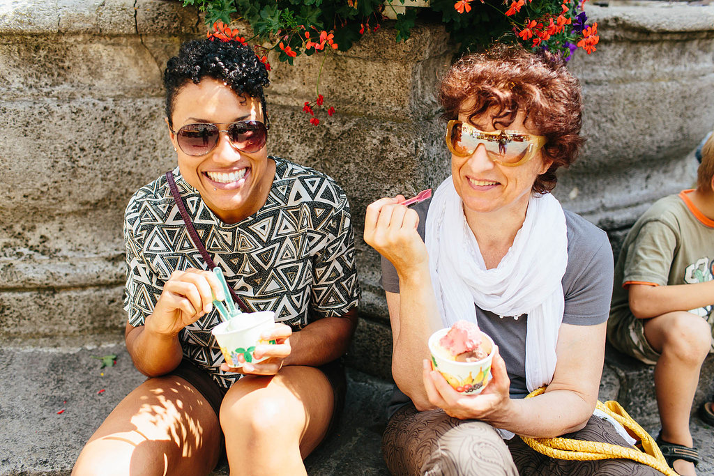 Ice cream with mama
