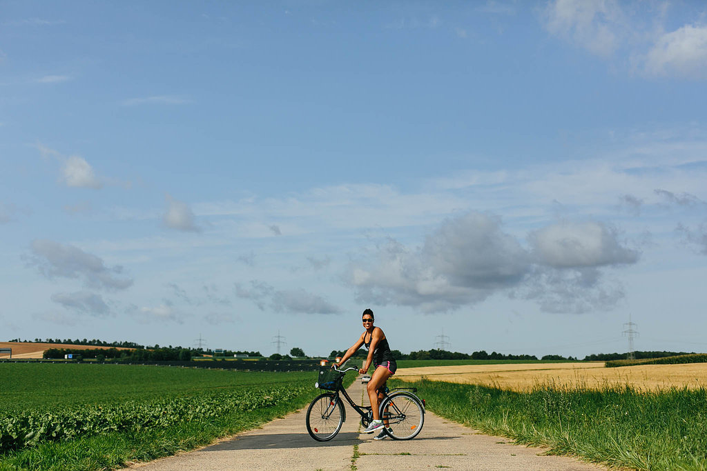 There are biking trails all over Germany!!