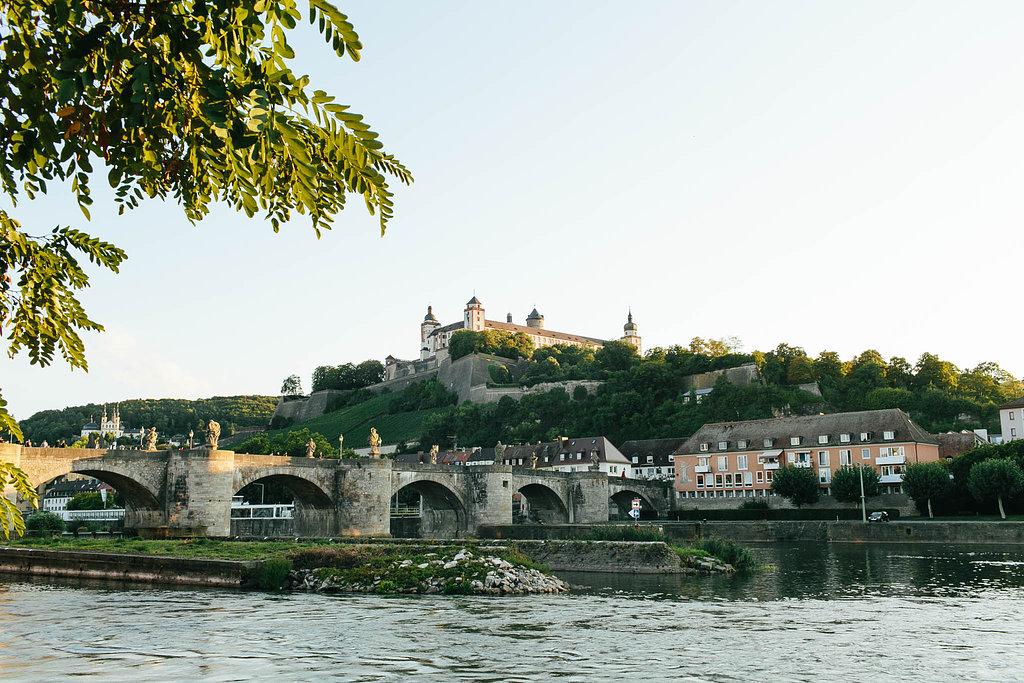 The beautiful city of Wurzburg