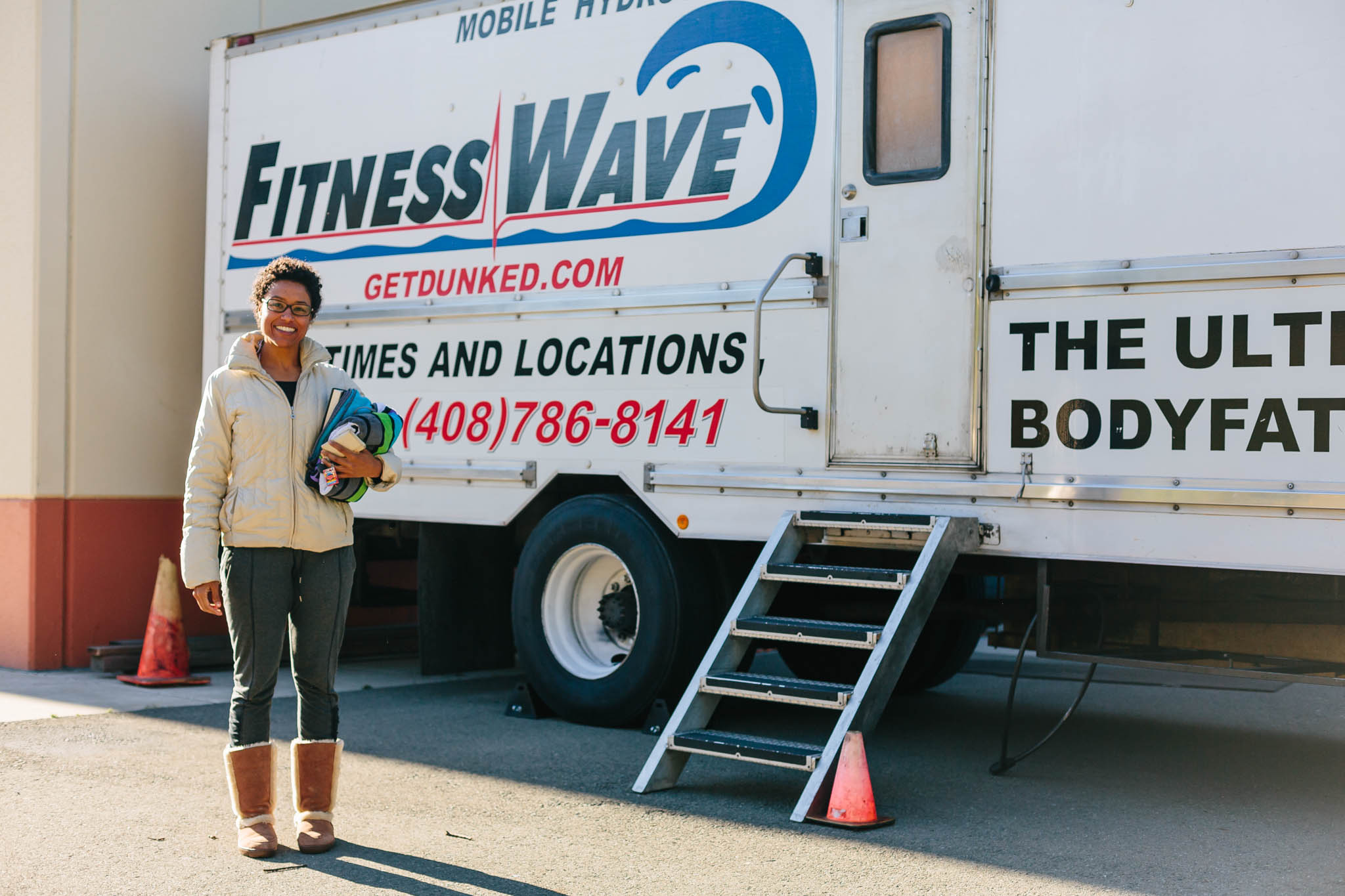 About to go in! We went with  Fitness Wave  for their mobile testing service and they were AMAZING! Highly recommend them.