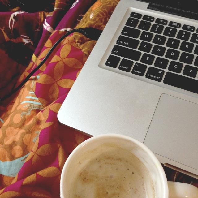 morning blog time