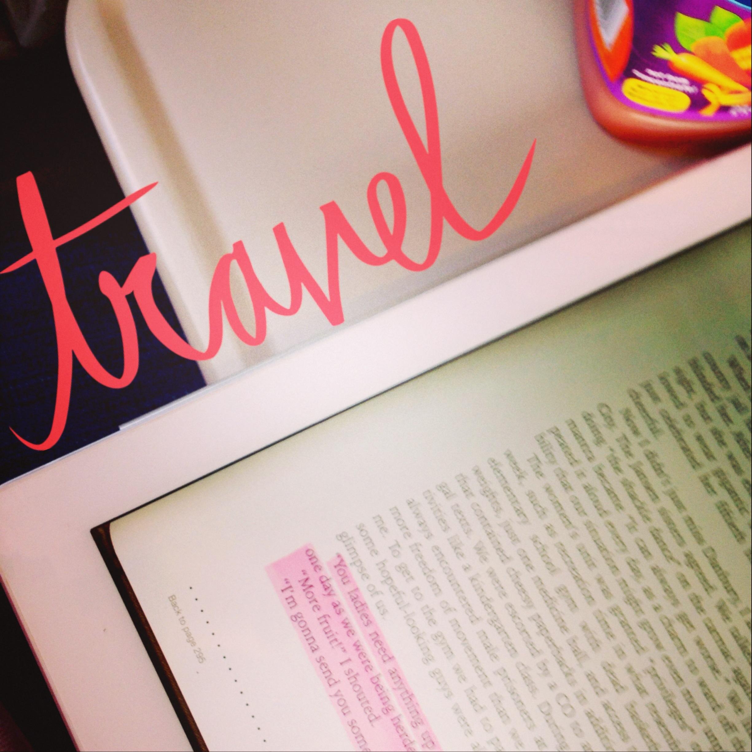 Blogging on the train.