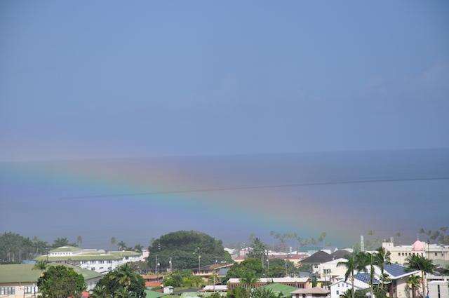 Hilo Town & Rainbow