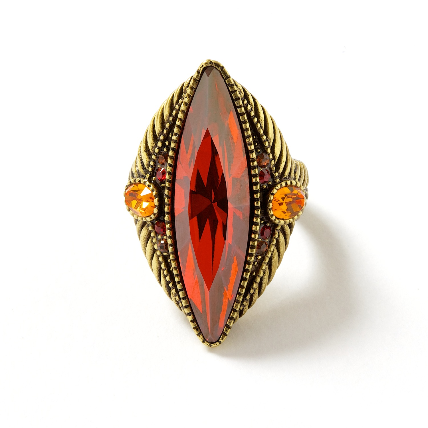 Oblong Cocktail Ring