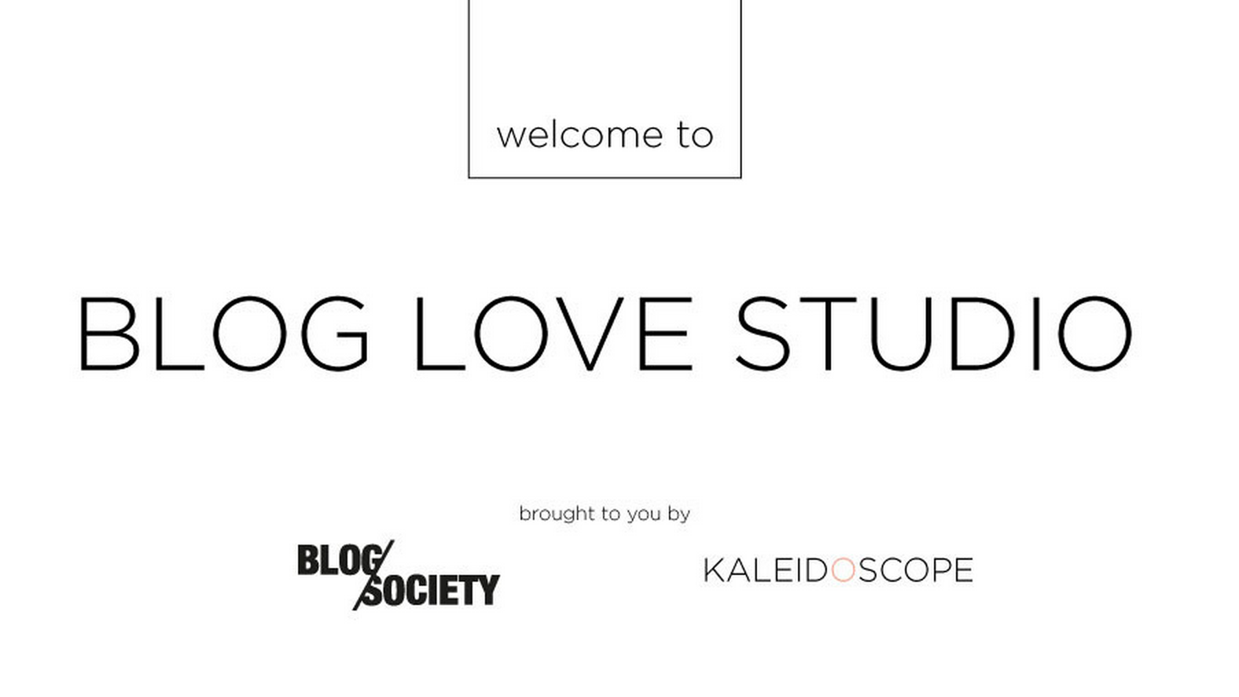 Blog Love Studio