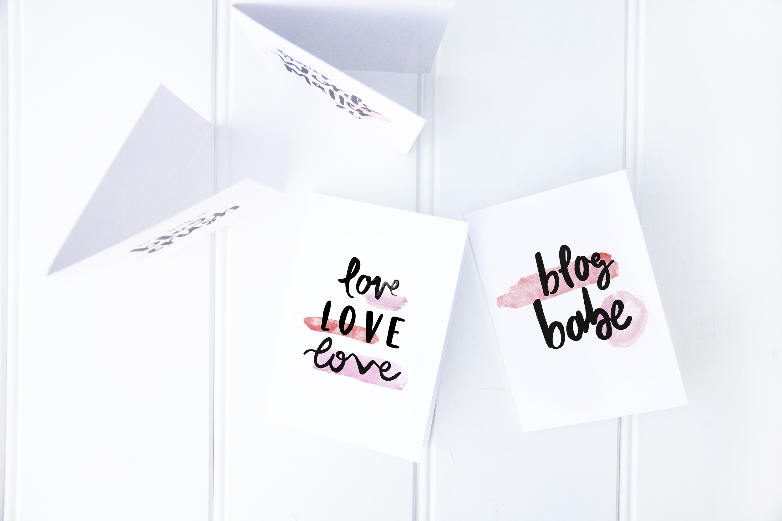 Valentine's Day Cards For Bloggers