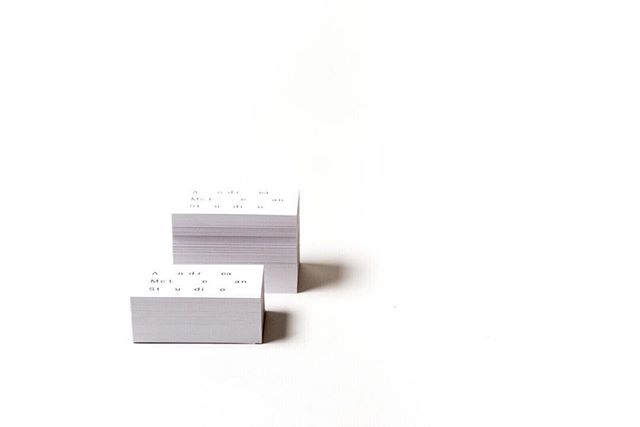 Business cards are in, stacks of them. Created by our studio mates @vigilantes_creative and photographed by our other studio mate @jonmcmorran at @theaviary_ca.