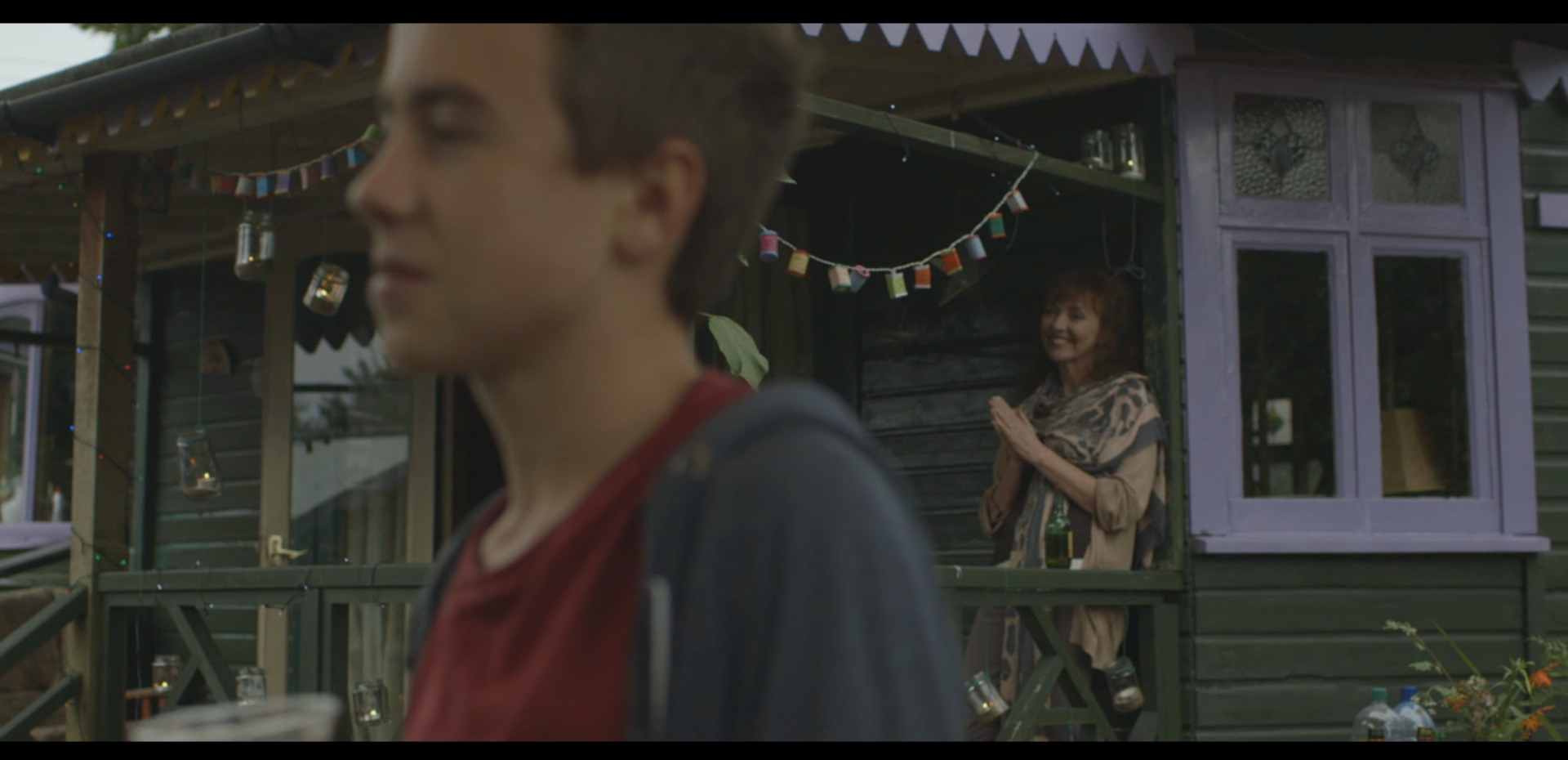 Sam Davies as Josh and Melanie Walters as Bethan in Long Arm Films' High Tide. ©Long Arm Films 2014