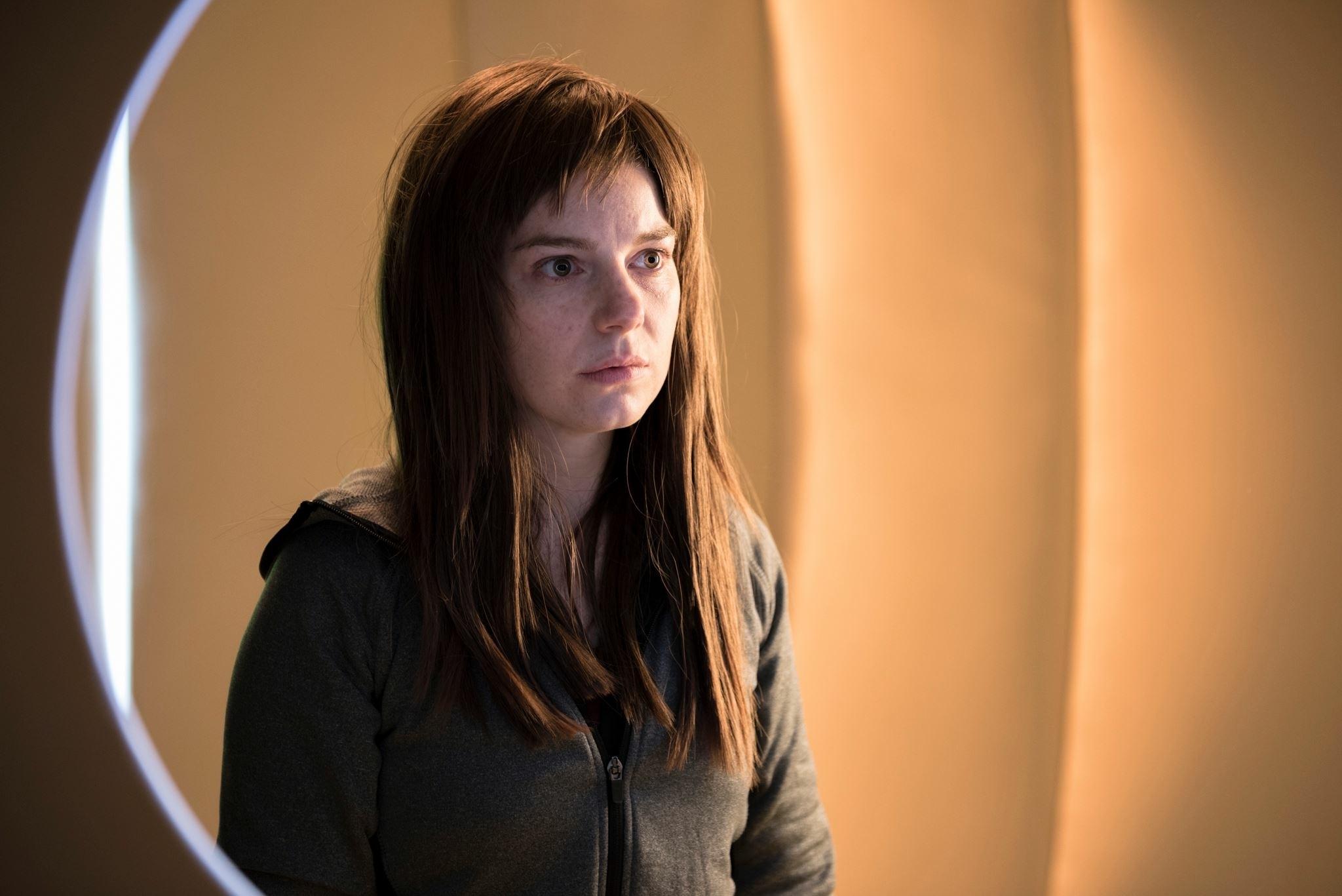 Aimee-Ffion Edwards as Ruth Sharman in Long Arm Films' Zero Sum  Photo © Lewis Gillingham  / Long Arm Films 2016