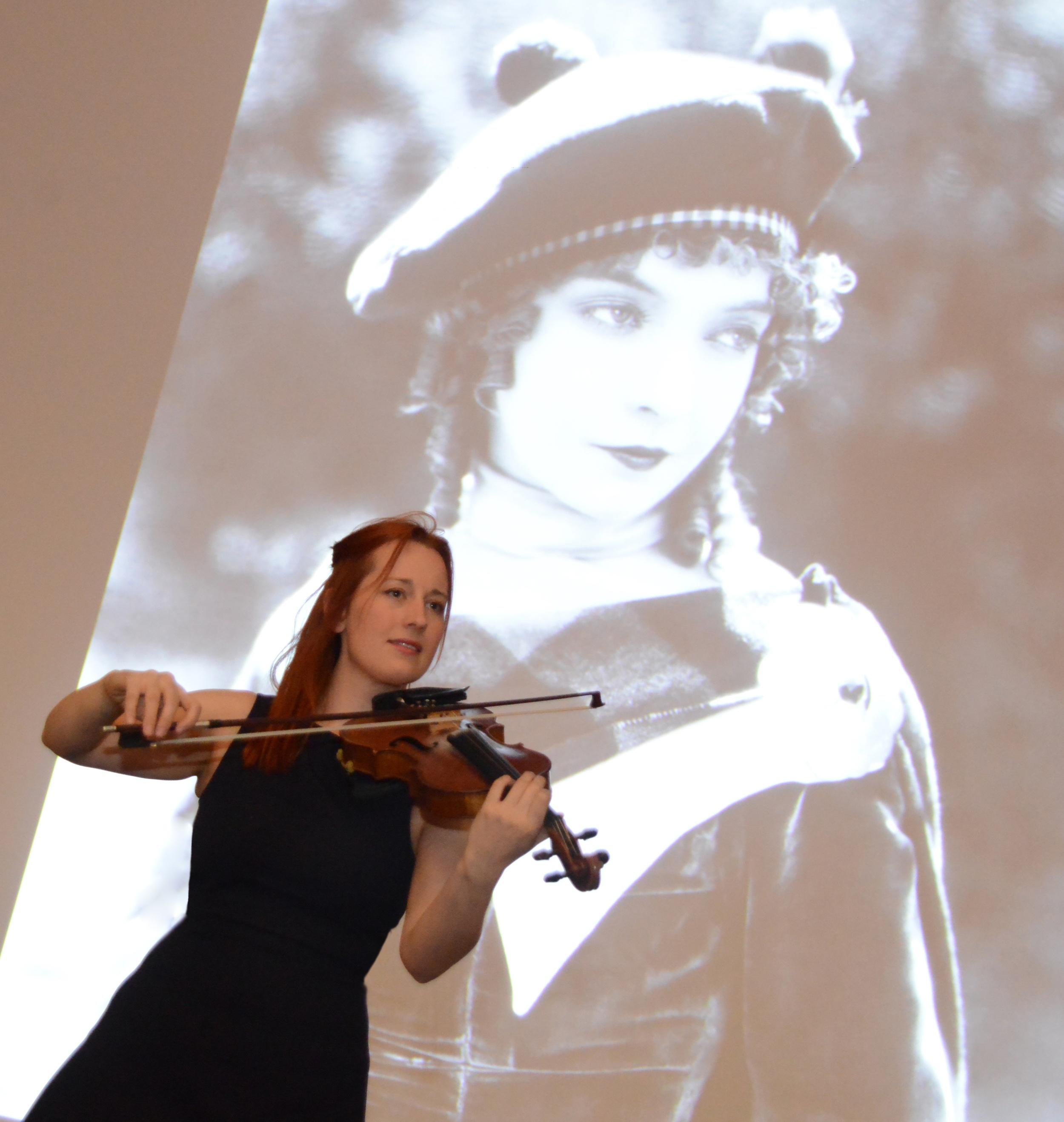 Shona Mooney: Images copyright Falkirk Community Trust. by LIsa Evans