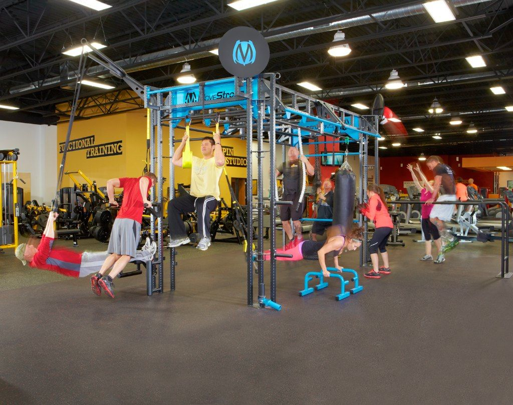 Bootcamp fitness class MoveStrong