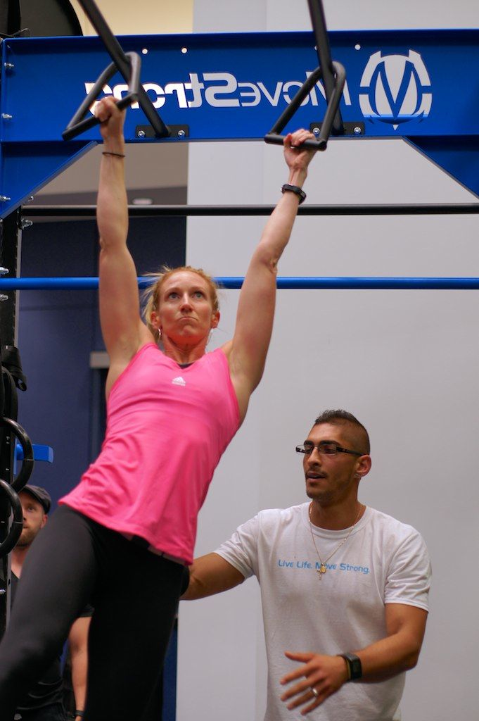 Bodyweight exercise calisthenics