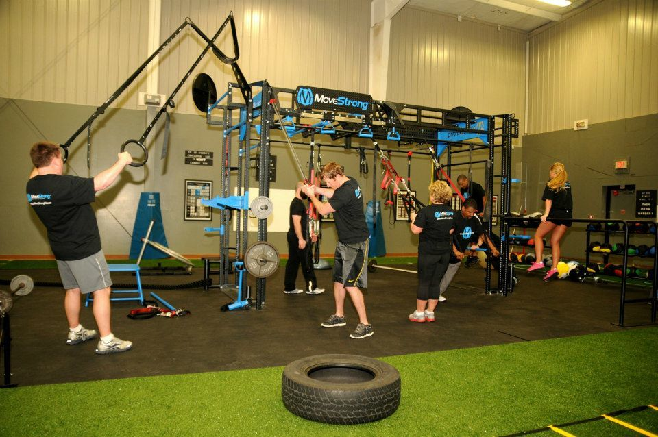 YMCA group functional class