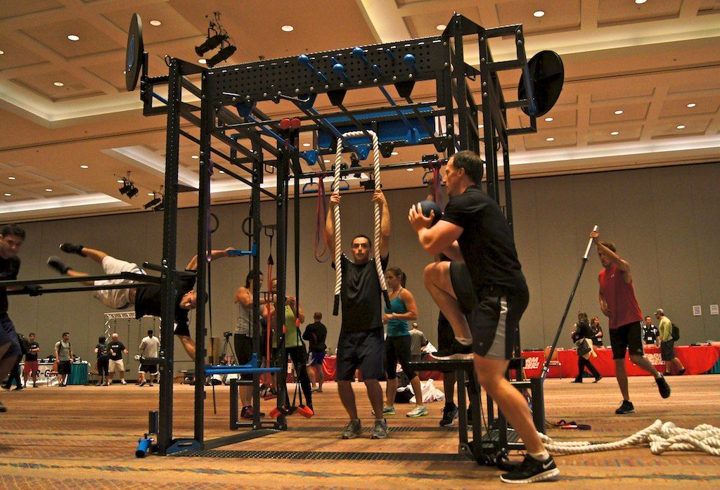 Workout functional training class