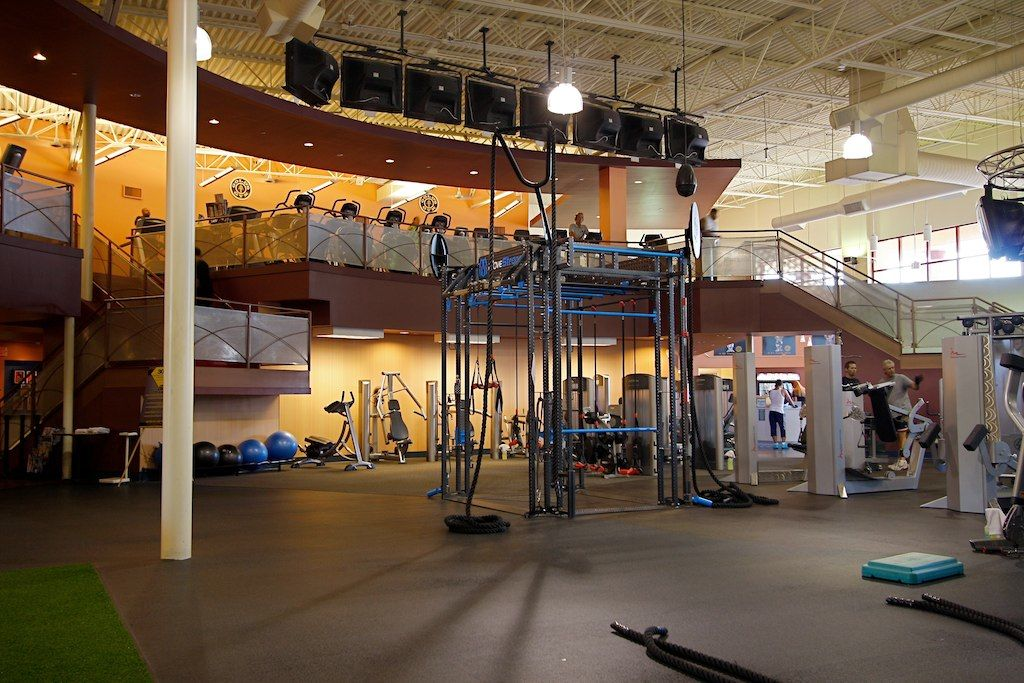 Golds gym functional training zone