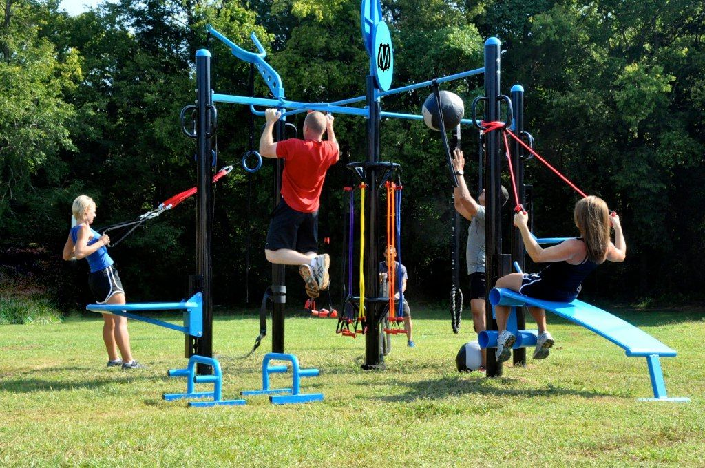 Outdoor MoveStrong gym