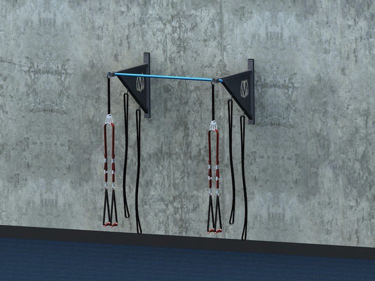 Pull-up Brackets with Standard Pull-up bar