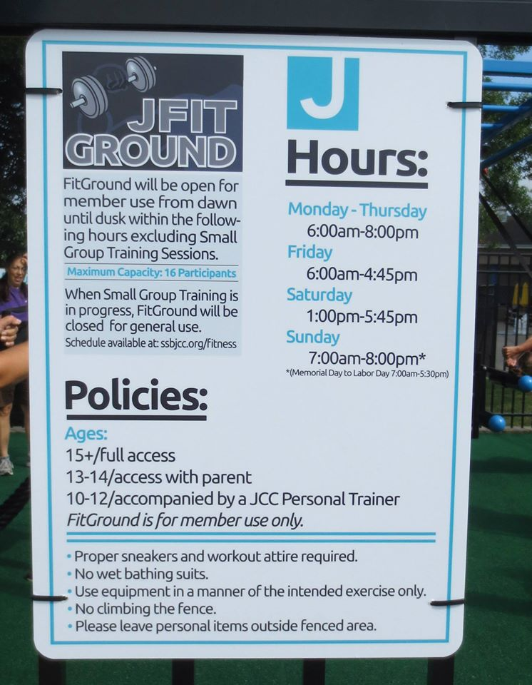 JCC MoveStrong fitground