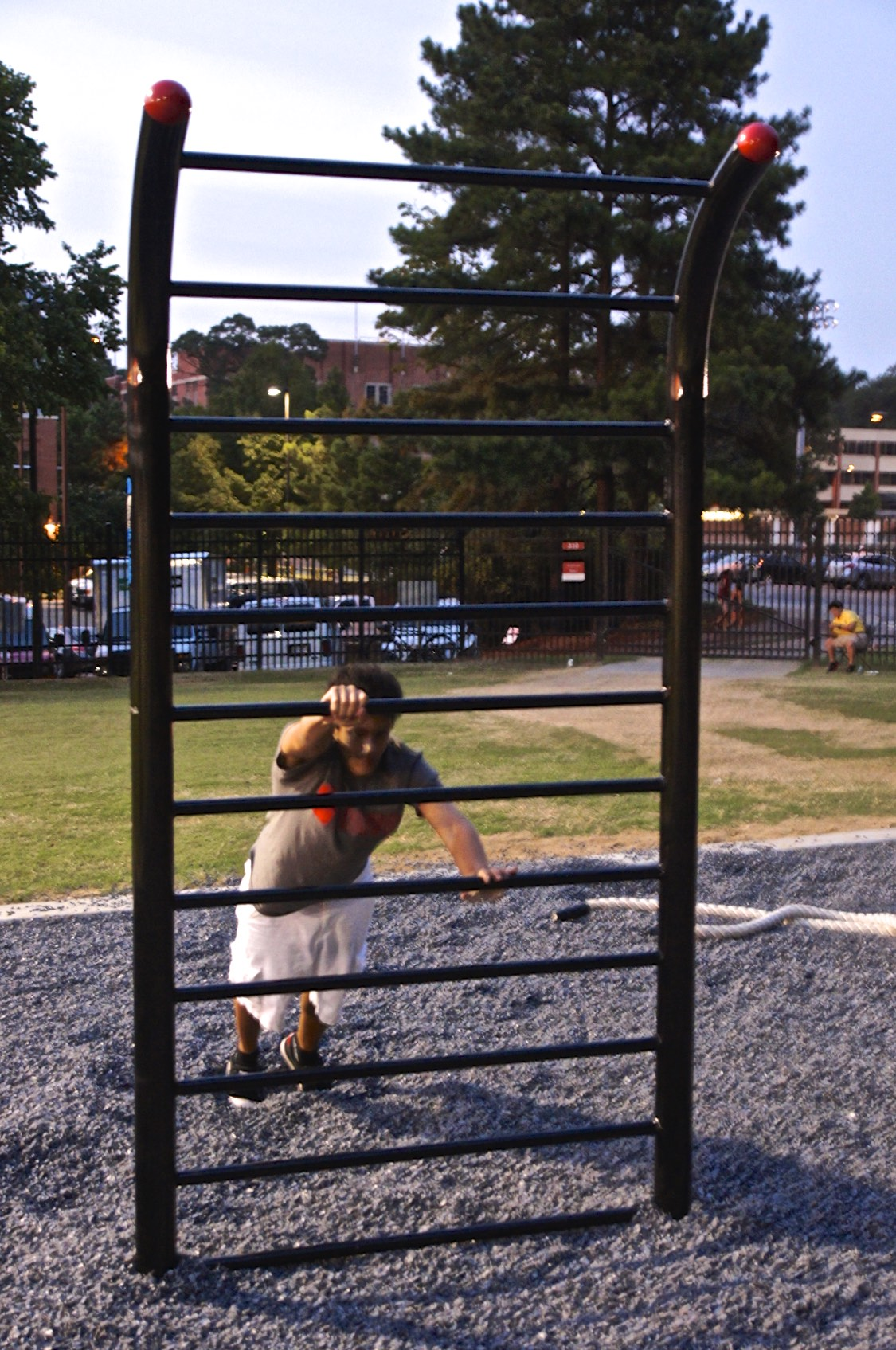 Stall bars outdoor gym