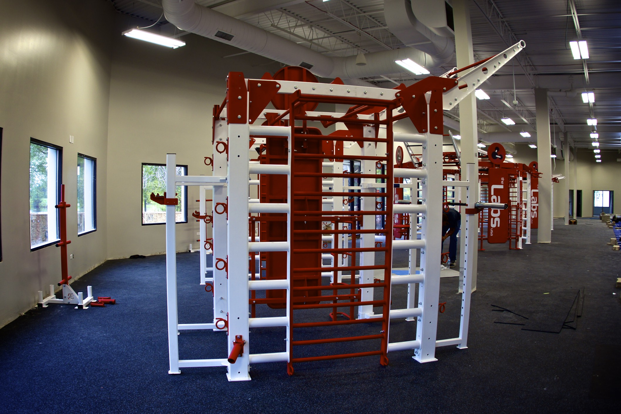 Team training rack