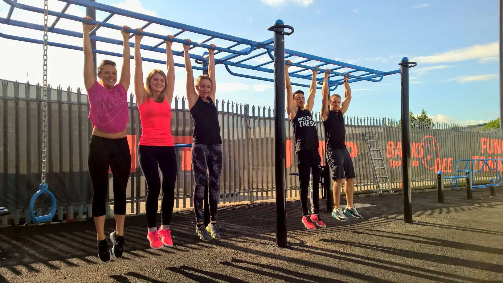 Banks O'Dee Outdoor functional fitness