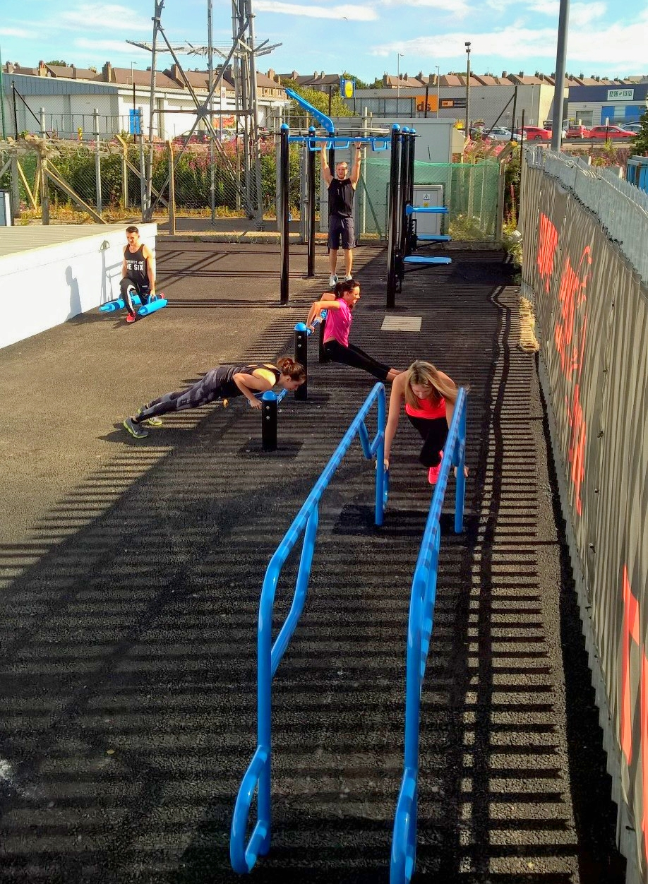 FitGround station for group fitness training