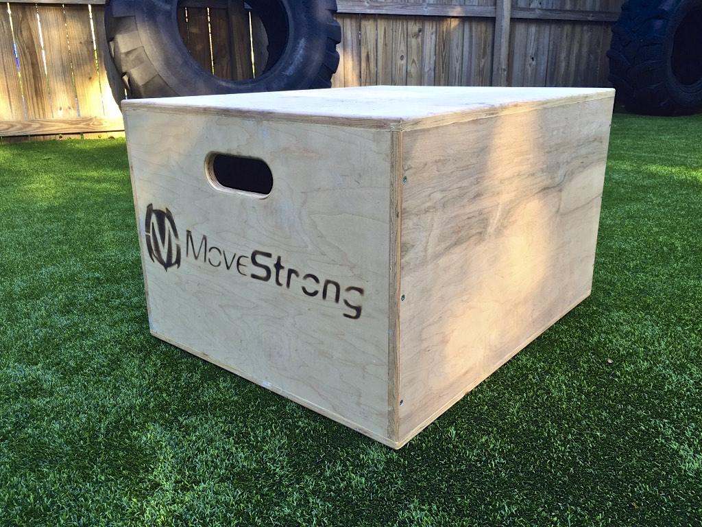 Wood ploy box
