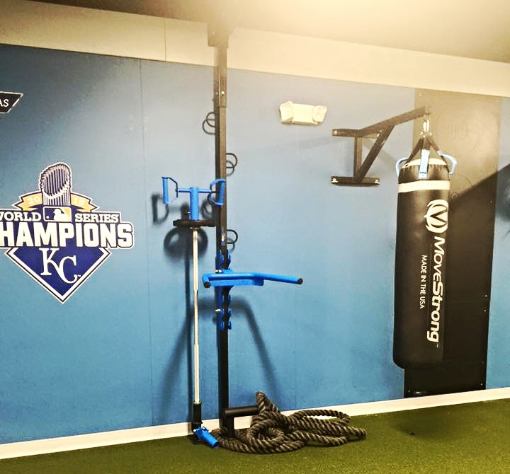 Physical Therapy wall mount fitness