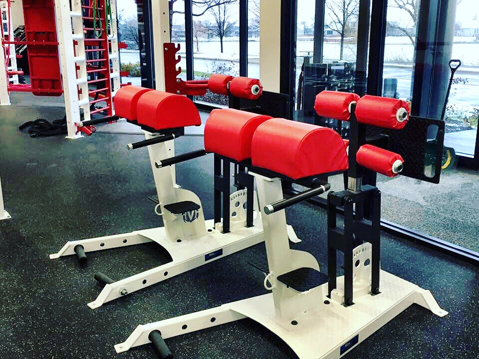 Glute ham and Reverse Hyper bench