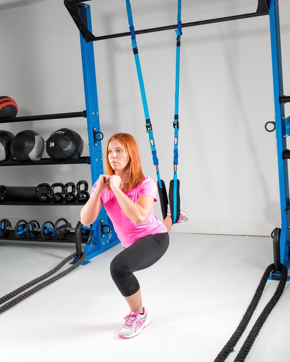 Functional training suspension
