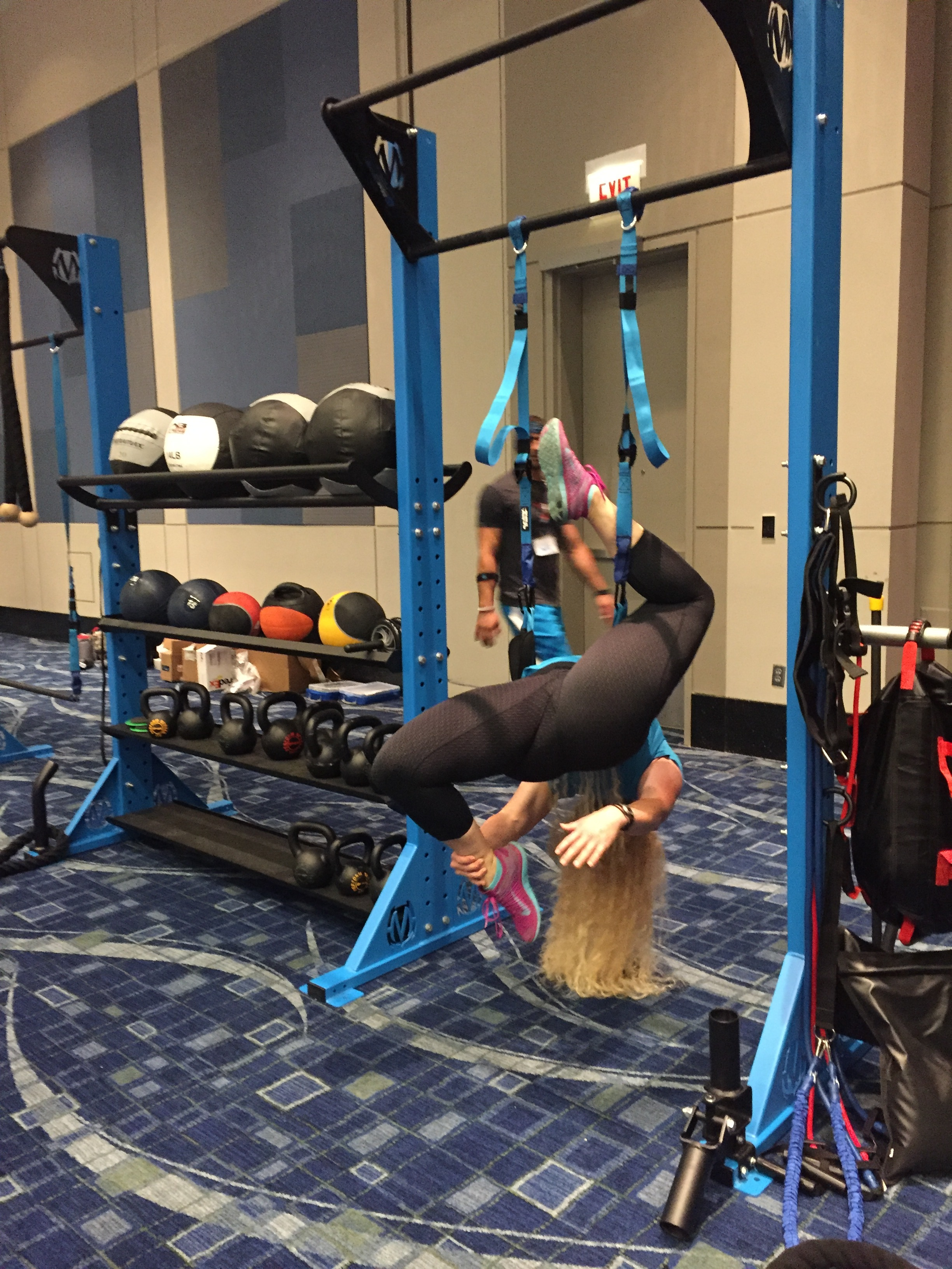 Inversion exercise with Elevate Trainer