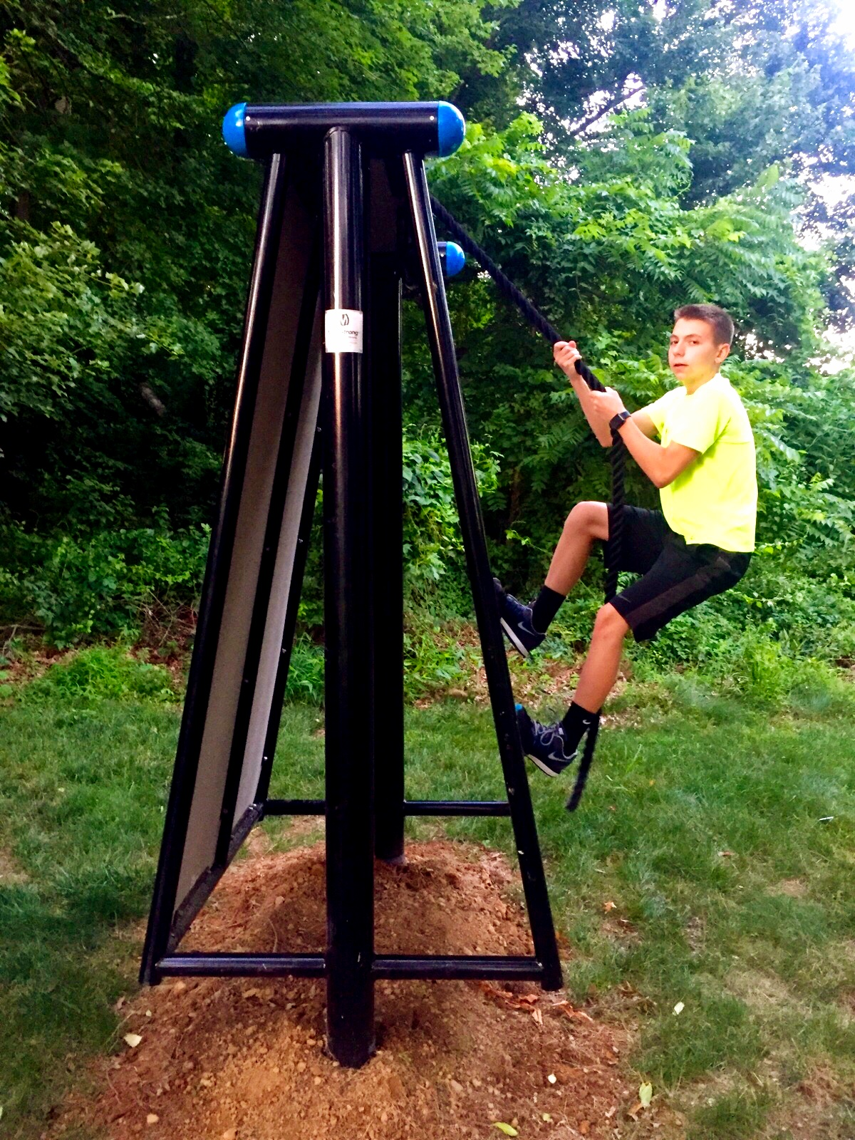 Outdoor fitness equipment Climb Obstacle
