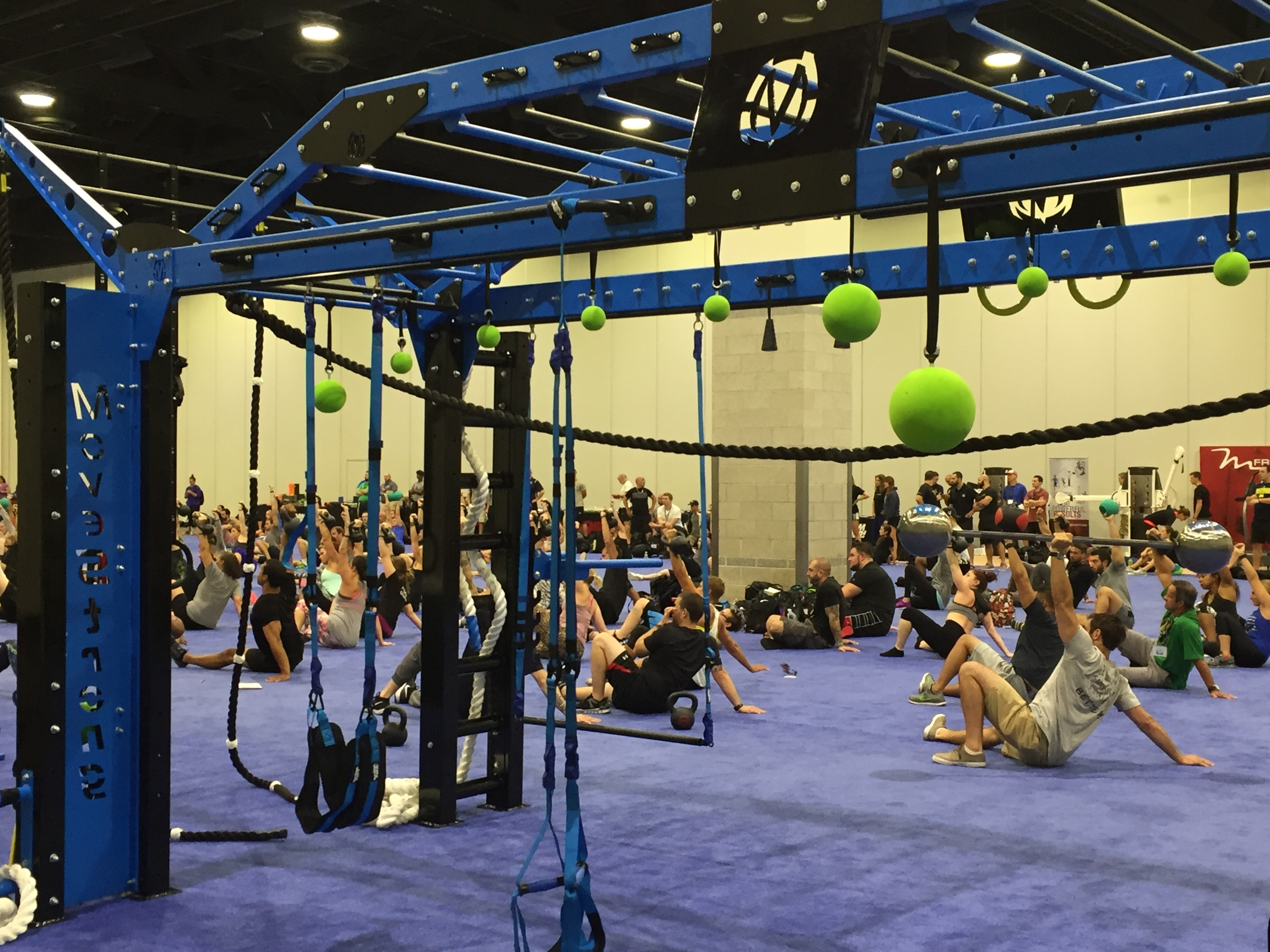 MoveStrong Nova XL at fitness summit