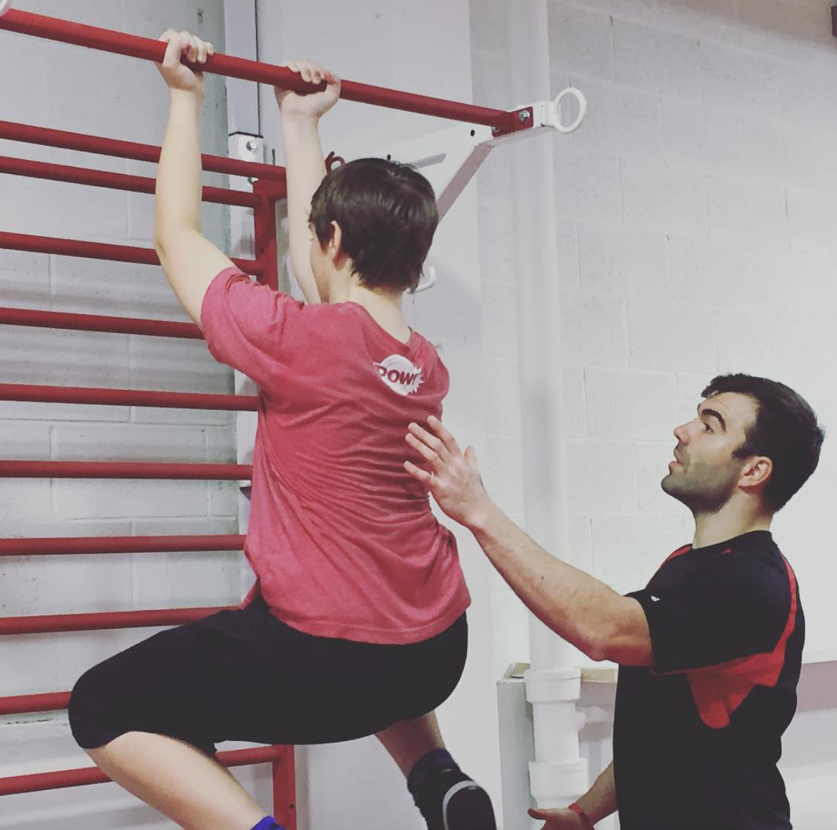 MoveStrong Pull-up bracket system