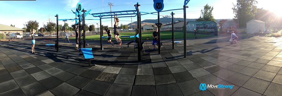Outdoor functional fitness with Movestrong Trex FTS