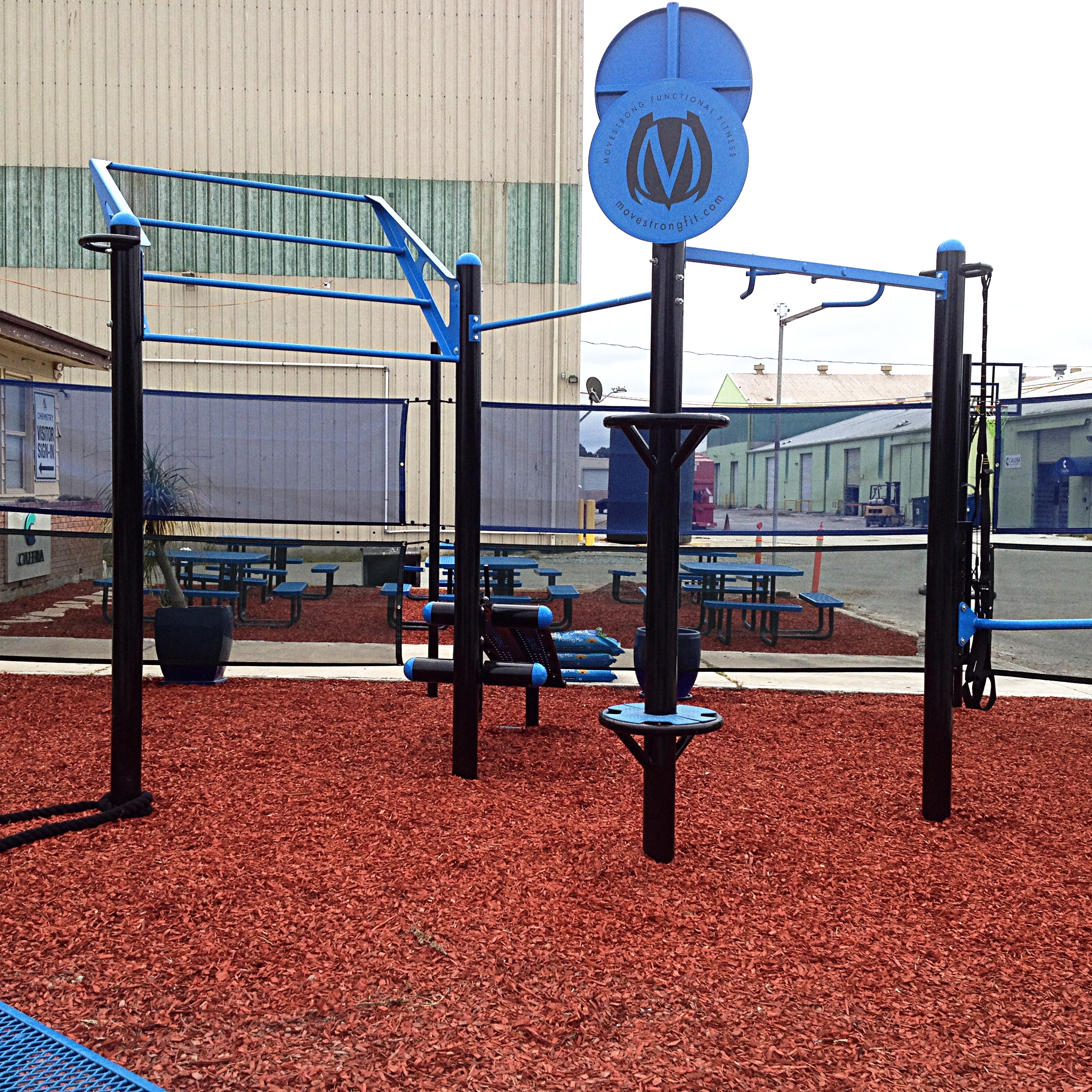 Calare corporation employee wellness outdoor fitness