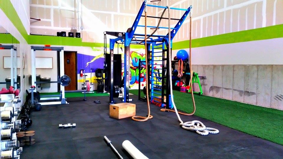 Fitness studio functional training