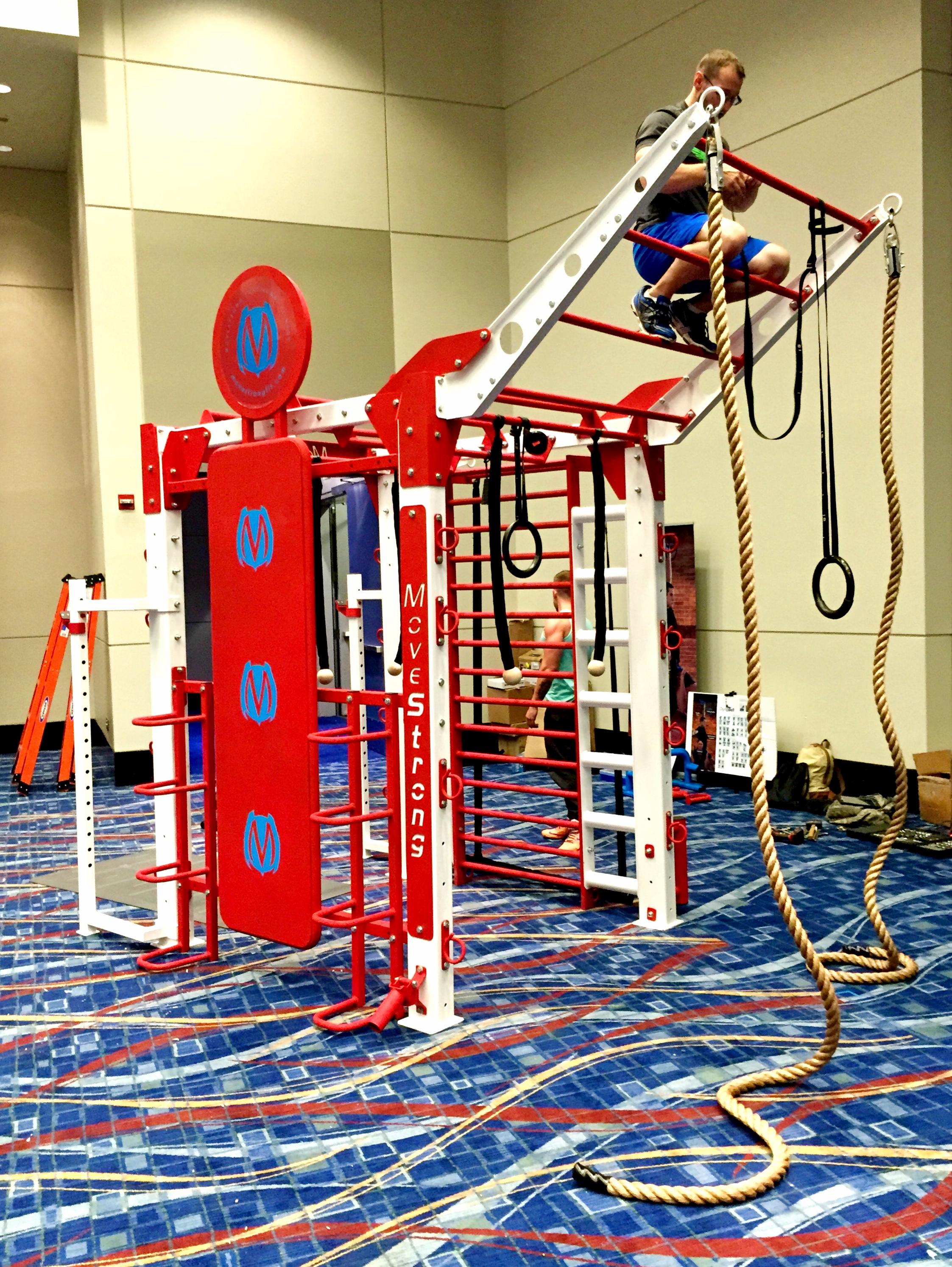 Custom functional fitness equipment