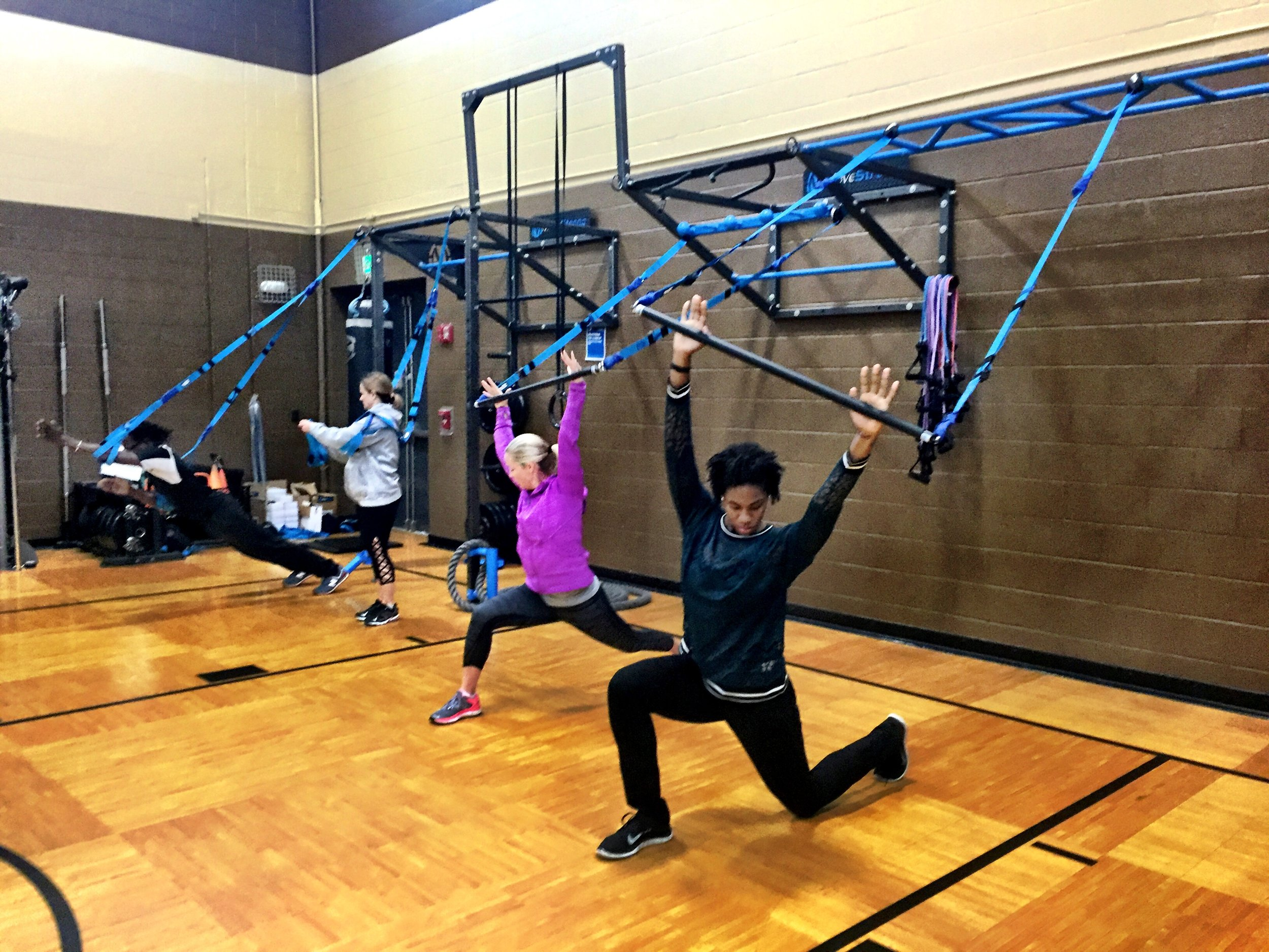 MoveStrong Wall FTS with Elevate suspension training workshop