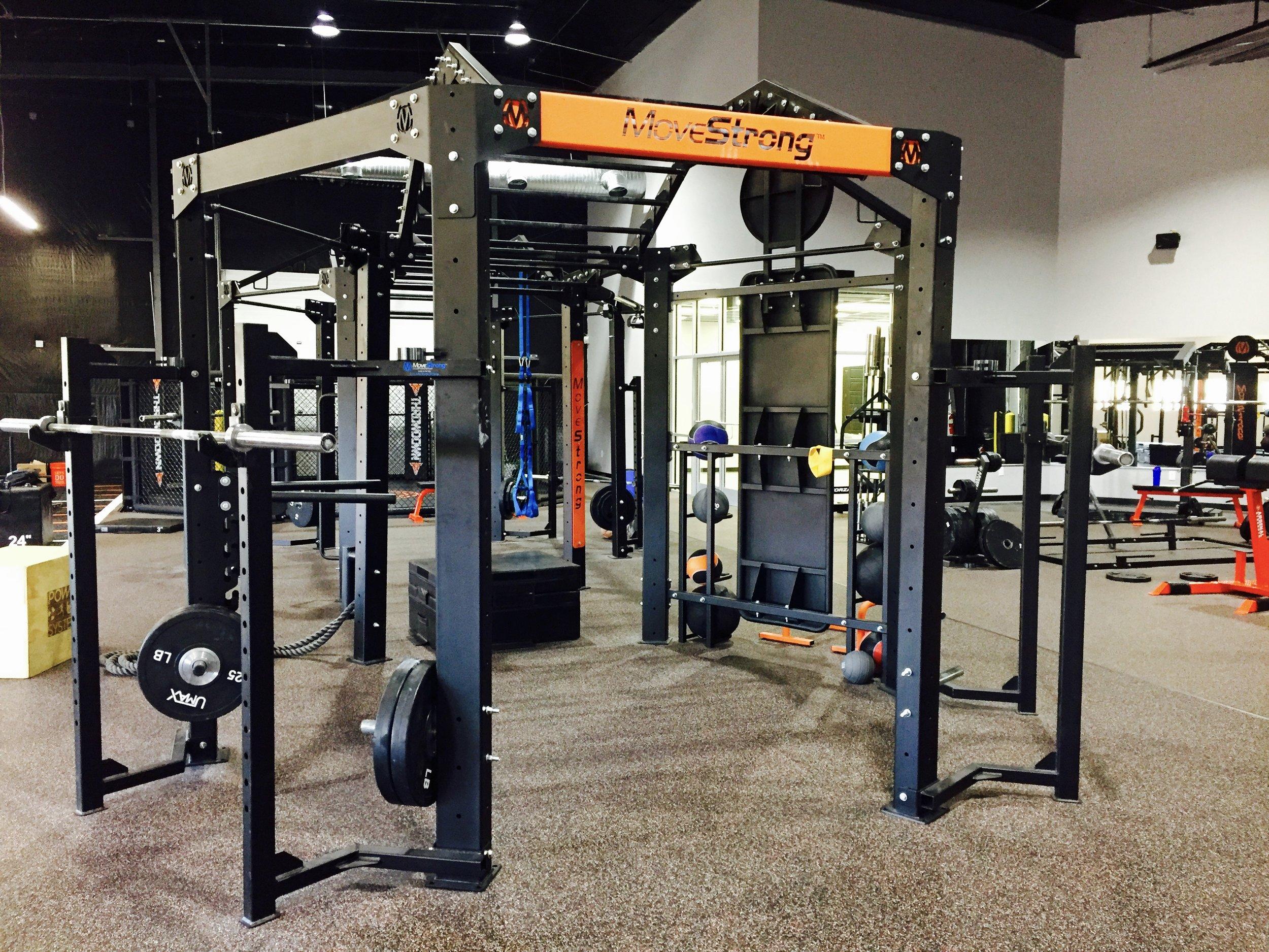 Squat racks on Nova FTS