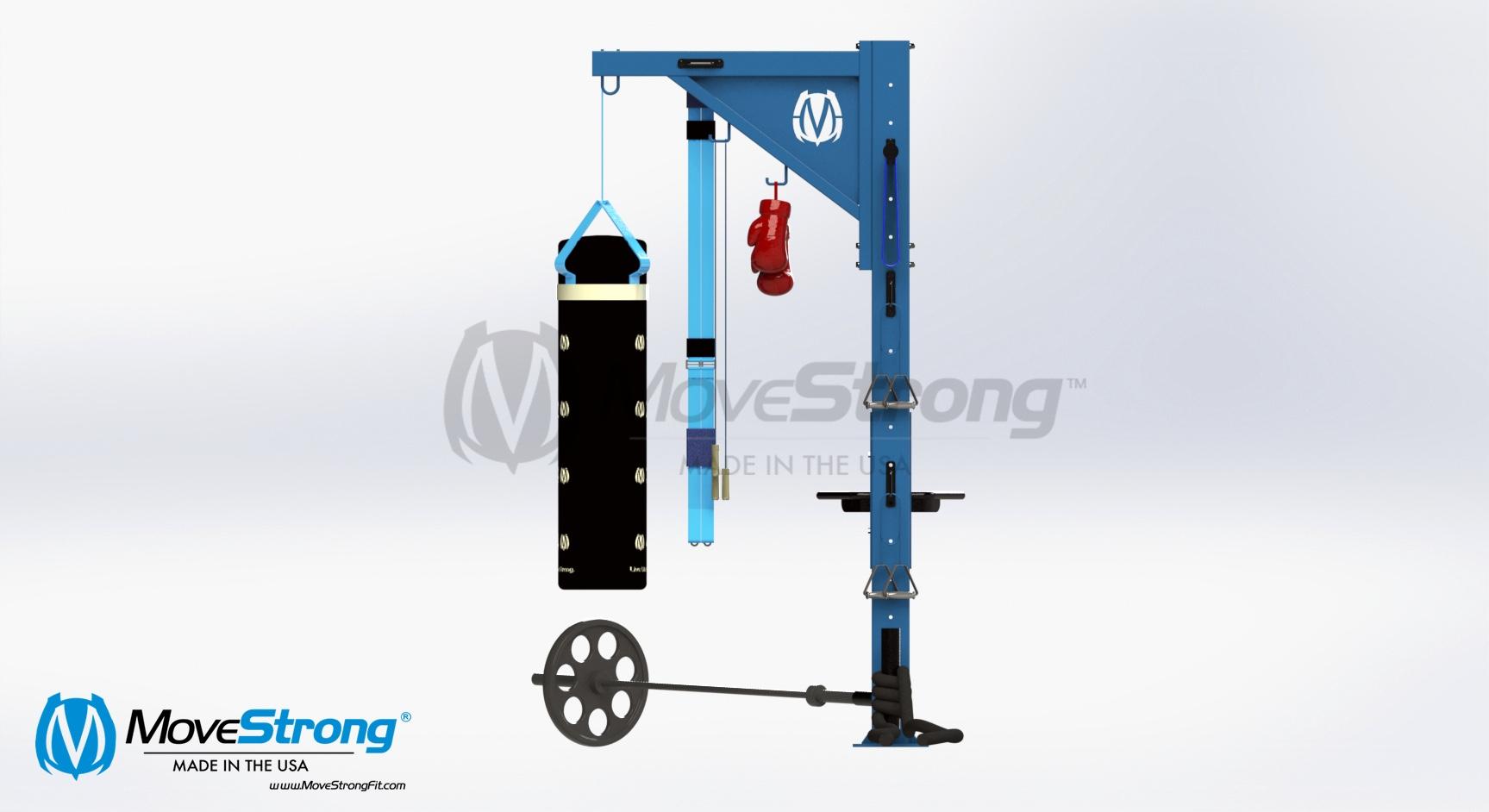 Freestanding back rack training