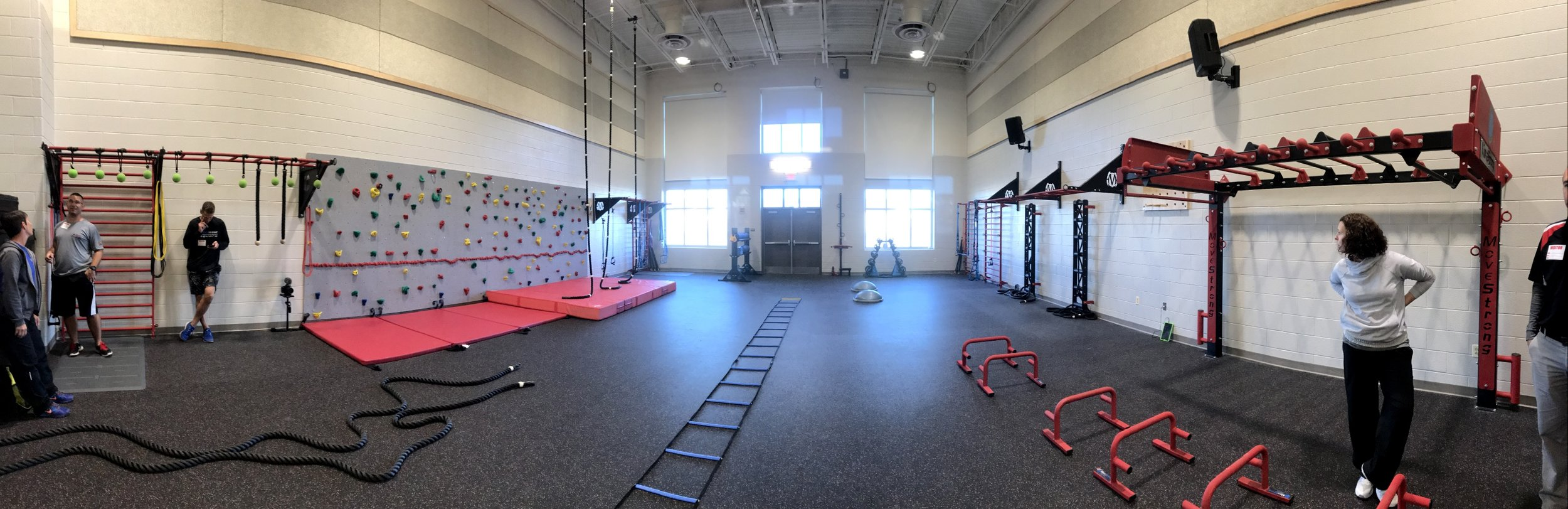 Middle School physical education room