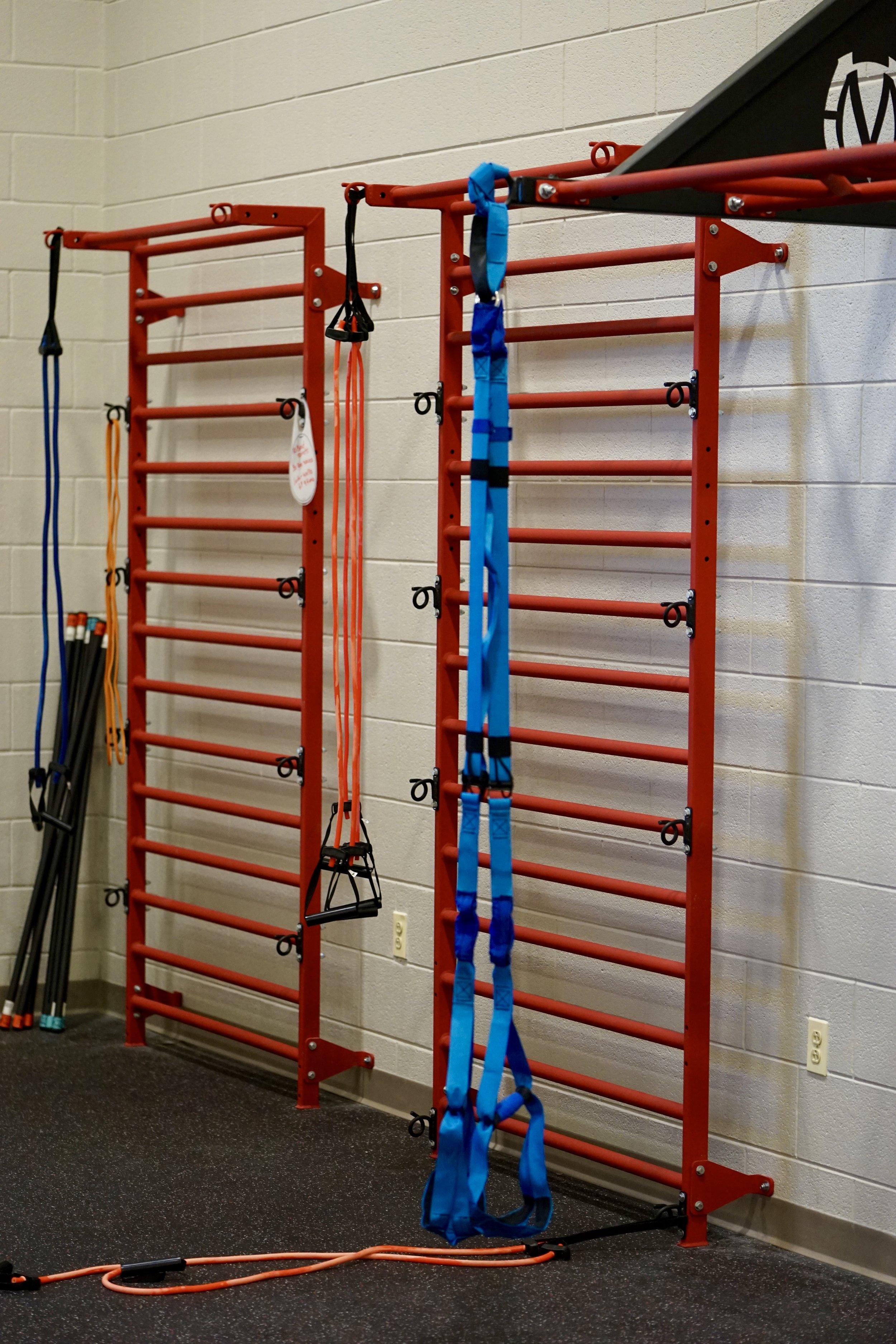Stall bars gym room