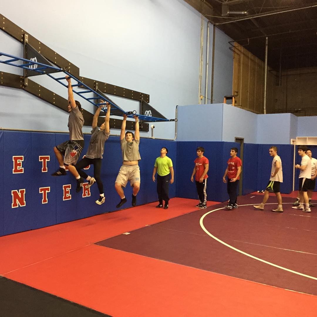 Team training strength workout
