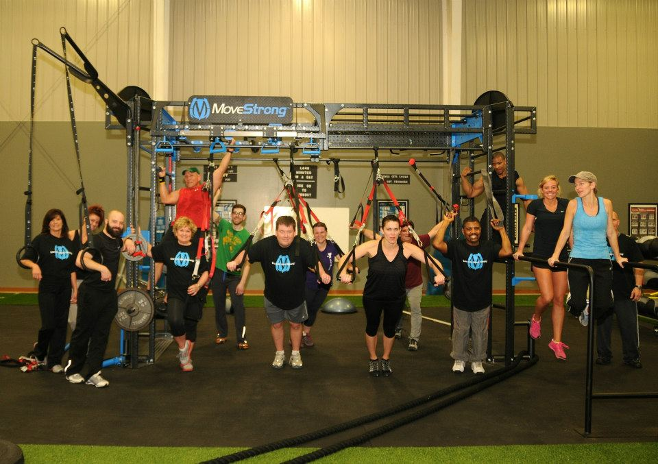 YMCA Dyer County functional fitness area