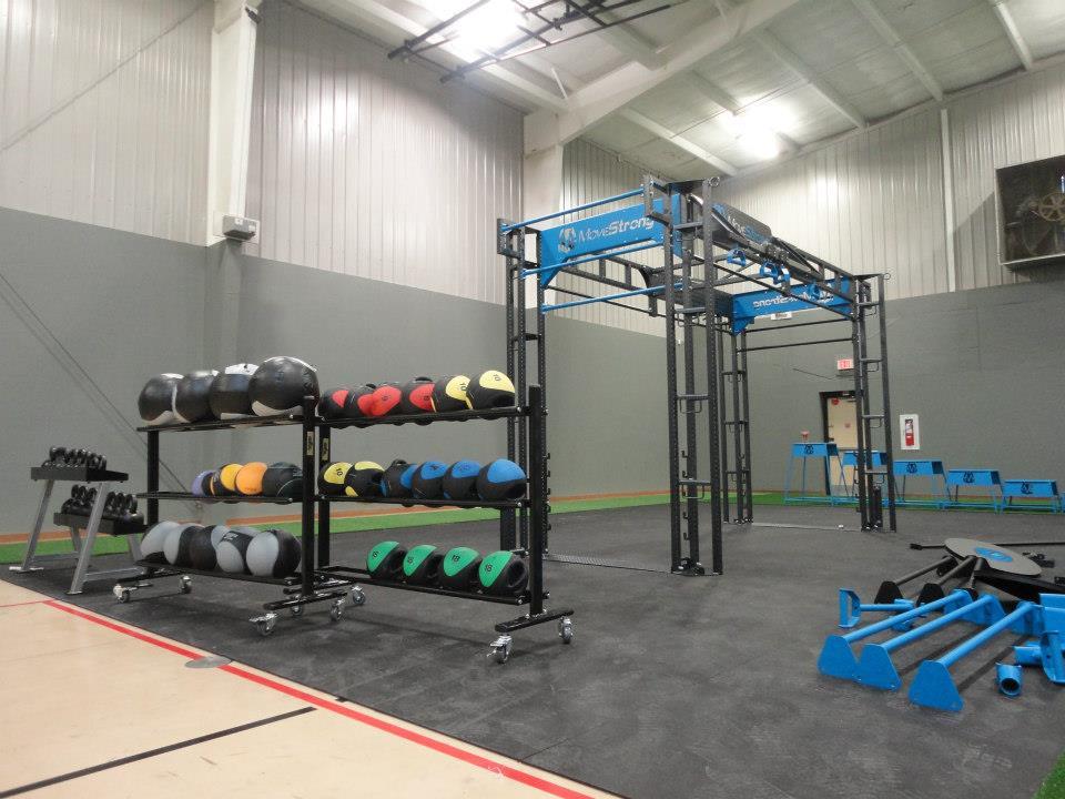 Functional training area YMCA