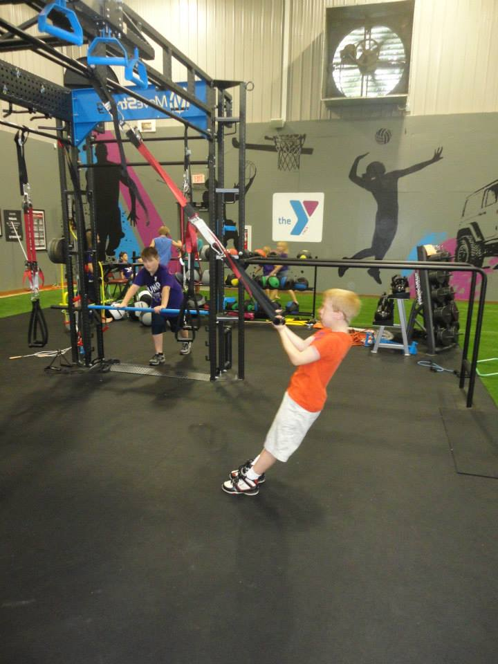 Youth workout YMCA