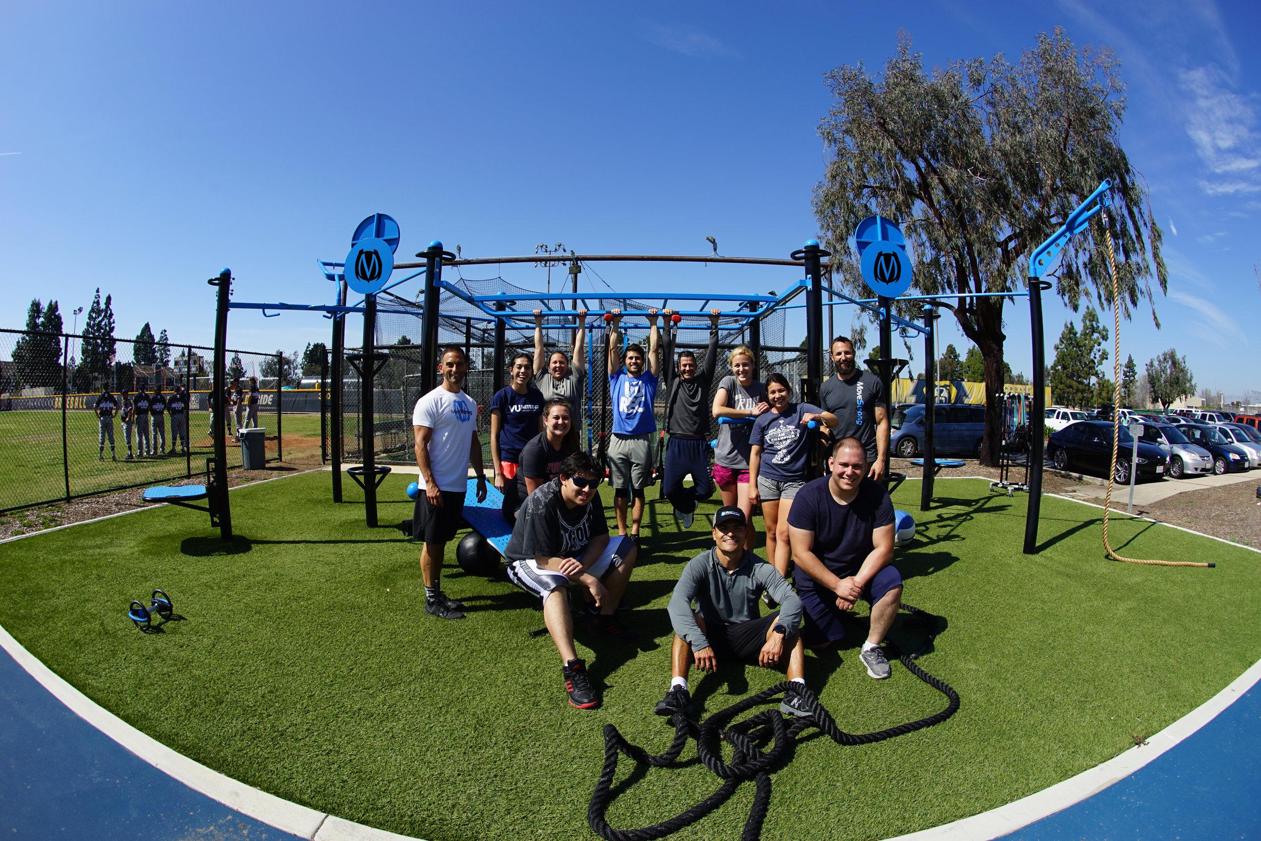 Vanguard University Rec Outdoor Ftness