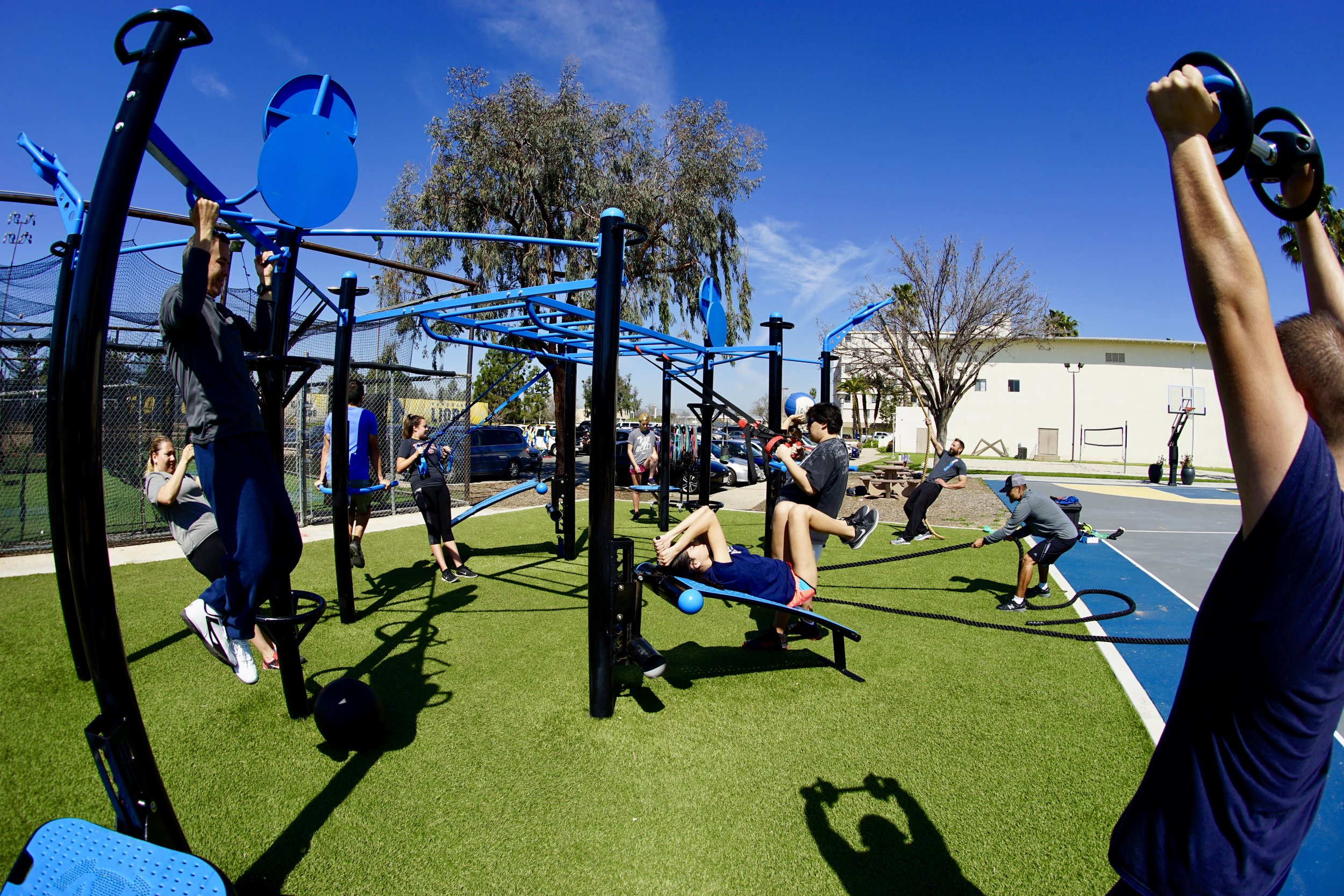 Functional Fitness Group Training